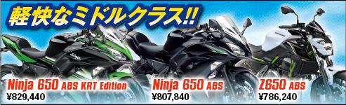 2017 650ccシリーズ