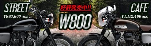2019 W800 STREET・W800 CAFE