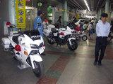 埼玉県交通機動隊のパトカー・白バイです